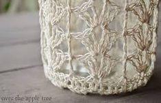 crochet jar cover pattern ile ilgili görsel sonucu