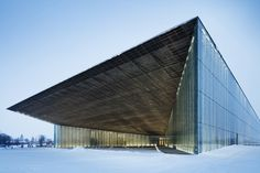 Image 20 of 36 from gallery of Estonian National Museum  / DGT Architects (Dorell.Ghotmeh.Tane). Photograph by Takuji Shimmura