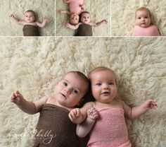 3 month old twins www.heatherkellyphotography.com   CT baby twin photographer