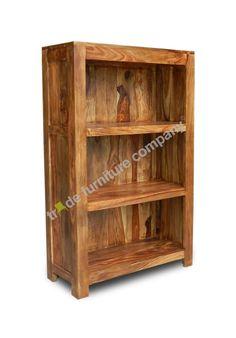 Madison Honey small sheesham bookcase