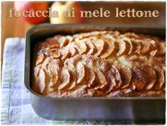 Focaccia di mele lettone/ Terry