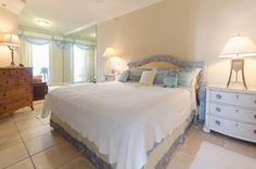 Club Cabana Unit#401... $535,000... 4bedrooms, 3baths... Non-Rental Complex Beautiful Mediterranean Style Condo Unit on Perdido Key's Gulf of Mexico! Contact DJ Drury @850-572-3539 or email  dj.drury@cox.net for more info Condo, Cabana, Wet Bar, Spa Pool, Bed, Mediterranean Style, Furniture, Home Decor, Room