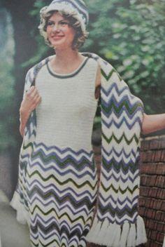 1970s Crochet Style from McCalls - loving it!