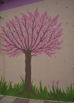 5ο ΝΗΠΙΑΓΩΓΕΙΟ ΚΑΛΑΜΑΤΑΣ-ΑΜΥΓΔΑΛΙΑ ΣΤΗΝ ΕΞΩΤΕΡΙΚΗ ΔΙΑΚΟΣΜΗΣΗ ΤΟΥ ΣΧΟΛΕΙΟΥ ΜΑΣ Classroom Activities, Activities For Kids, Crafts For Kids, Art Projects, Projects To Try, Spring Theme, Painted Leaves, Art Plastique, Art Lessons