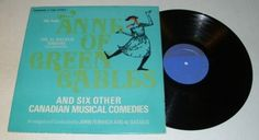 AL BACULIS SINGERS: Canadian Soft Pop ANNE OF GREEN GABLES Rare LP