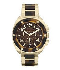 Michael Kors Tribeca Faux-Tortoise Ladies Watch