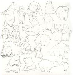 Free & Easy Animal Sketch Drawing Information & Ideas 40 Free & Easy Animal Sketch Drawing Ideas & Inspiration - Brighter CraftSketch Sketch or sketches may refer to: Bear Sketch, Girl Sketch, Easy Animals, Draw Animals, Bear Illustration, Drawing Sketches, Drawing Ideas, Sketch Ideas, Drawing Tips