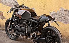 RocketGarage Cafe Racer: Bmw K100 Oxblood