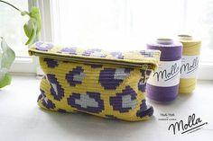 Free #crochet purse pattern for leopard clutch by Molla Mills via @craftgossip