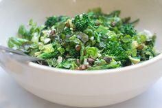 The Greenest Salad: Romaine, broccoli, Hass avocado, pistachios, feta, balsamic-tarragon vinaigrette