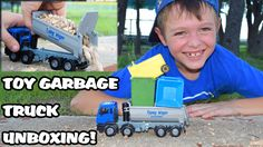 Garbage Truck Videos For Children l Trash Truck UNBOXING l Garbage Picku...