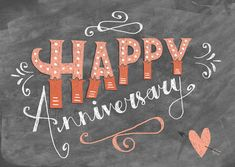 The Happy Anniversary Typographical Greetings Cards by Steph Baxter, via Behance Happy Anniversary Quotes, Wedding Anniversary Wishes, Anniversary Greetings, Anniversary Pictures, Happy Birthday Greetings, Anniversary Verses, Anniversary Chalkboard, Anniversary Funny, Birthday Chalkboard