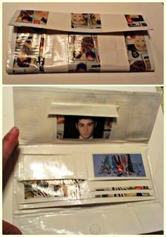 One direction Duct tape wallet...