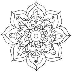 Mandala Floral #3