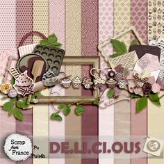 DE.LI.CI.OUS Digital Scrap Kit -- available here: http://scrapfromfrance.fr/shop/index.php?main_page=index_id=43