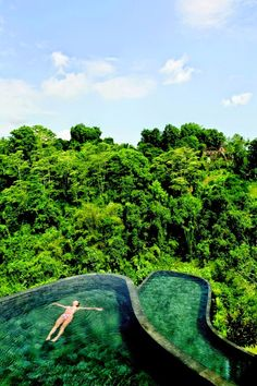 Feel unbelievably supernatural at the Hanging Gardens in Ubud - Bali, Indonesia