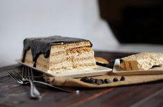 Reese's Peanut Butter Icebox Cake - I'll save you a slice. Maybe. Probably not. @SheKnows