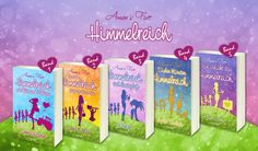 Alle fünf Bände auf einen Blick <3  Band 1: Himmelreich mit kleinen Fehlern, Emma Wagner http://goo.gl/y7bZKH Band 2: Tausche Himmelreich gegen große Liebe, Lana N. May http://goo.gl/CgEQit Band 3: Himmelreich und Honigduft, Jo Berger http://amzn.to/1QBk3hT  Der vierte Band von Violet Truelove erscheint am 1. April. Der fünfte von Mia Leoni am 1. Juni