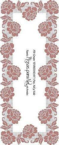 This Pin was discovered by HUZ Crochet Art, Crochet Motif, Crochet Designs, Crochet Doilies, Crochet Stitches, Crochet Curtains, Crochet Tablecloth, Crochet Table Runner, Filet Crochet Charts
