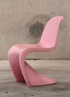 Attirant Pink S Chair | Verner Panton