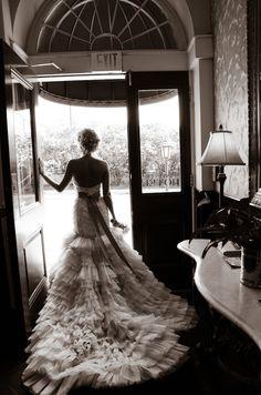 Ashley Lazaro Real Bride in Style 3150