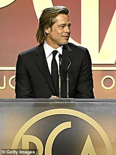 Brad Pitt's production company PlanB wins at Producers Guild Awards Ideal Man, Perfect Man, Bratt Pitt, Jolie Pitt, Production Company, David Bowie, Actors & Actresses, Awards, Hollywood