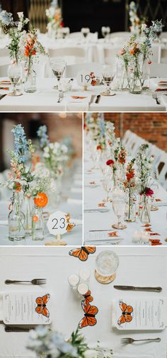 This wedding was a whimsical butterfly wonderland | Image by The Brauns