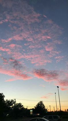 Some aesthetics wallpaper Pretty Sky, Beautiful Sky, Summer Sunset, Sunset Sky, Tumblr Wallpaper, Wallpaper Backgrounds, Sky Aesthetic, Pink Sky, Sky And Clouds
