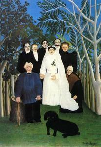 Le Mariage - (Henri Rousseau)
