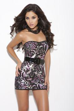 93a5f16c2453 Elegant Moments lingerie item   8253.  31.34 Strapless Floral Dress