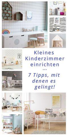 Kleines Kinderzimmer einrichten – worauf kommt es dann, damit es richtig schön wird? Hier sind 7 Tipps, damit die Einrichtung eines kleinen Raumes gelingt!