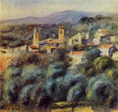 Cros de Cagnes - Pierre-Auguste Renoir