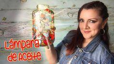 Lamparas Aceite con Frascos estilo Vitral :: Chuladas Creativas DIY