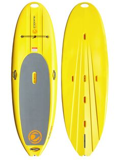 Surfer SUP by Imagine Surf The Imagine Surf Surfer Stand Up Paddleboard is another great board for learning. It's durable and stable for a smooth ride.