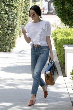 New sunday brunch outfit chic fall ideas Casual Brunch Outfit, Summer Brunch Outfit, Casual Outfits, Cute Outfits, Estilo Vanessa Hudgens, Vanessa Hudgens Style, Casual Chic, Look Boho Chic, Look Fashion