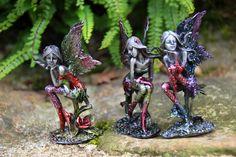 Grossiste décoration fée. Figurine fée métal. CADOJEUX importateur de décoration fantastique.