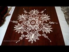 rangoli designs flowers simple without dots muggulu designs simple kolam for friday daily rangoli Simple Rangoli Kolam, Simple Rangoli Border Designs, Free Hand Rangoli Design, Small Rangoli Design, Beautiful Rangoli Designs, Rangoli Designs Peacock, Indian Rangoli Designs, Rangoli Designs Latest, Rangoli Designs With Dots