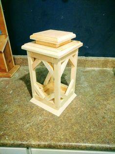 DIY wooden lantern #WoodworkFactory