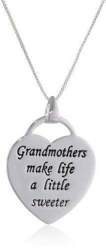 Grandmothers make life a little sweeter necklace