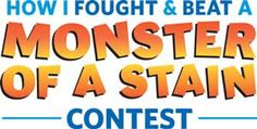 If you've got a great stain-fighting story, you could be one of three winners!