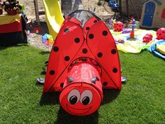 Lady Bug Garden Birthday Party Ideas | Photo 10 of 54 | Catch My Party