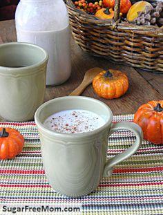 Sugar free and non dairy pumpkin spice creamer