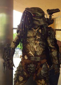 Building a killer Predator costume #Halloween #ardunio #movie
