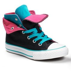 Converse All Star Two-Fold High-Top Sneakers for Girls online only