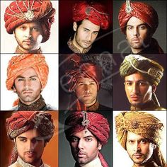 Maharaja turbans. Take your pick, Mayor Hunter!