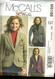McCall's M5188 5188 ~ Misses' Lined Jackets ~ Pattern Size 6 8 10 12