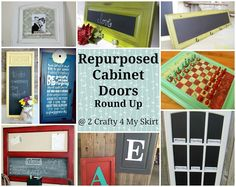 137 Best Upcycling Cabinet Doors Inspirations Images Recycling