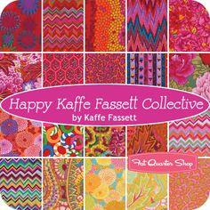 """Happy Kaffe Fassett Collective 6"""" Design Strip Kaffe Fassett for Westminster Fibers - Fat Quarter Shop"""
