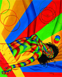 The Essence #oiloncanvas #art