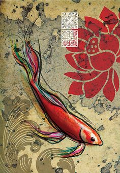 """The Lucky Fish"" by Narelle Craven"